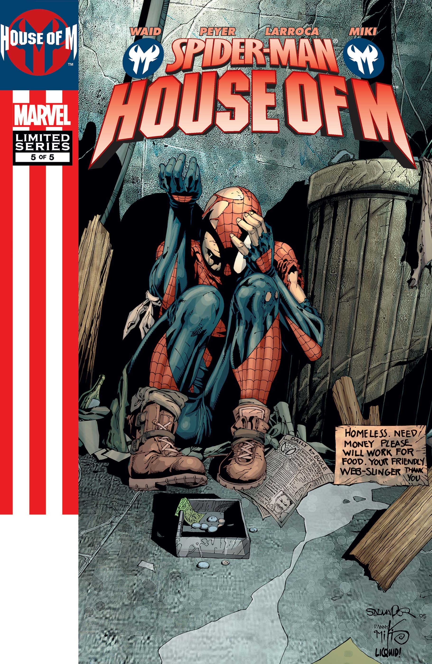 Spider-Man: House of M (2005) #5
