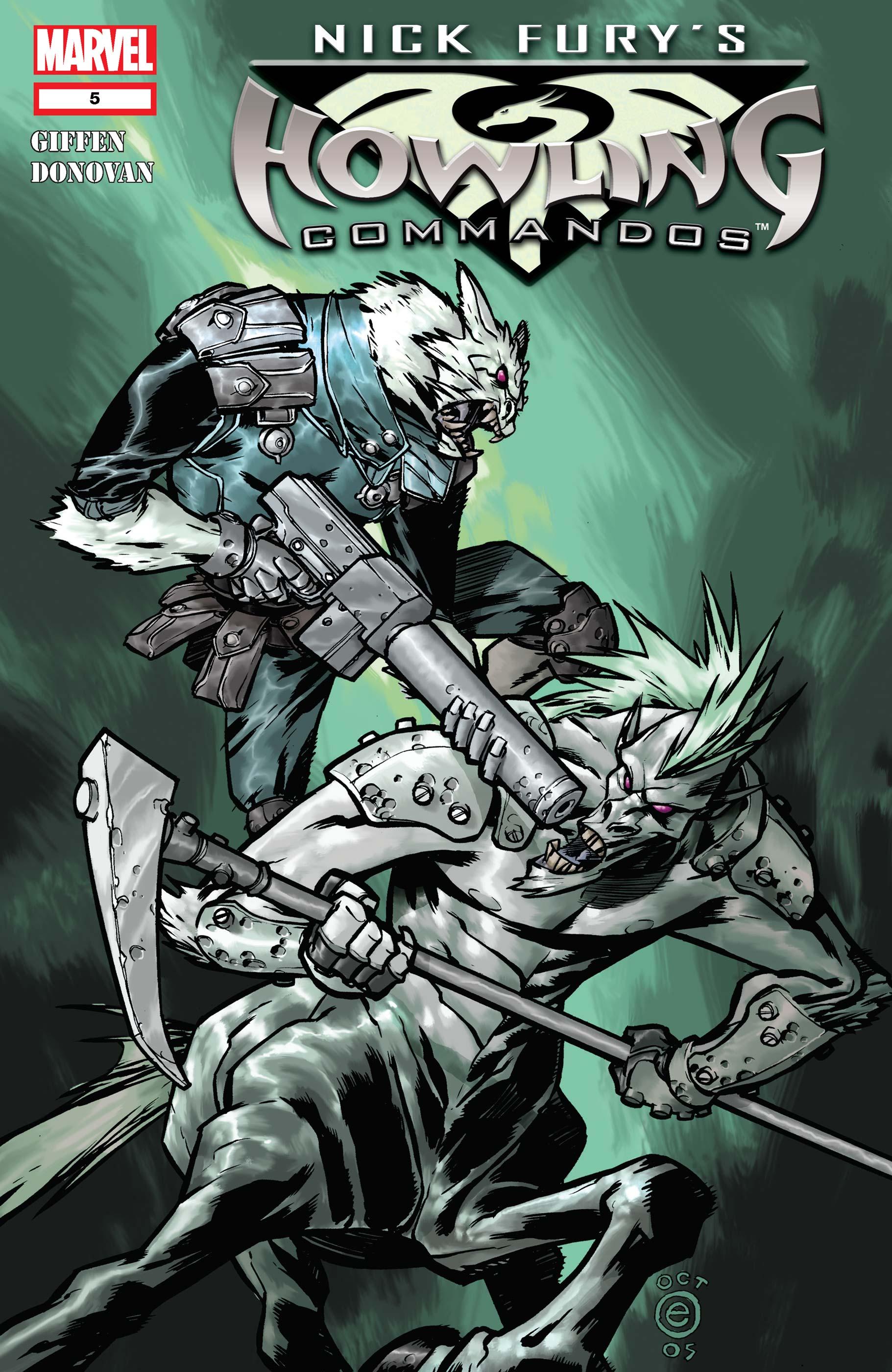 Nick Fury's Howling Commandos (2005) #5