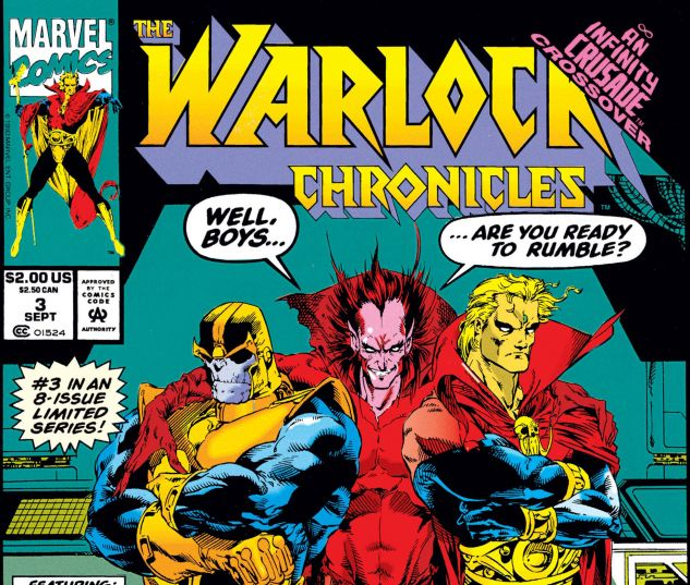 WARLOCK CHRONICLES (1993) #3