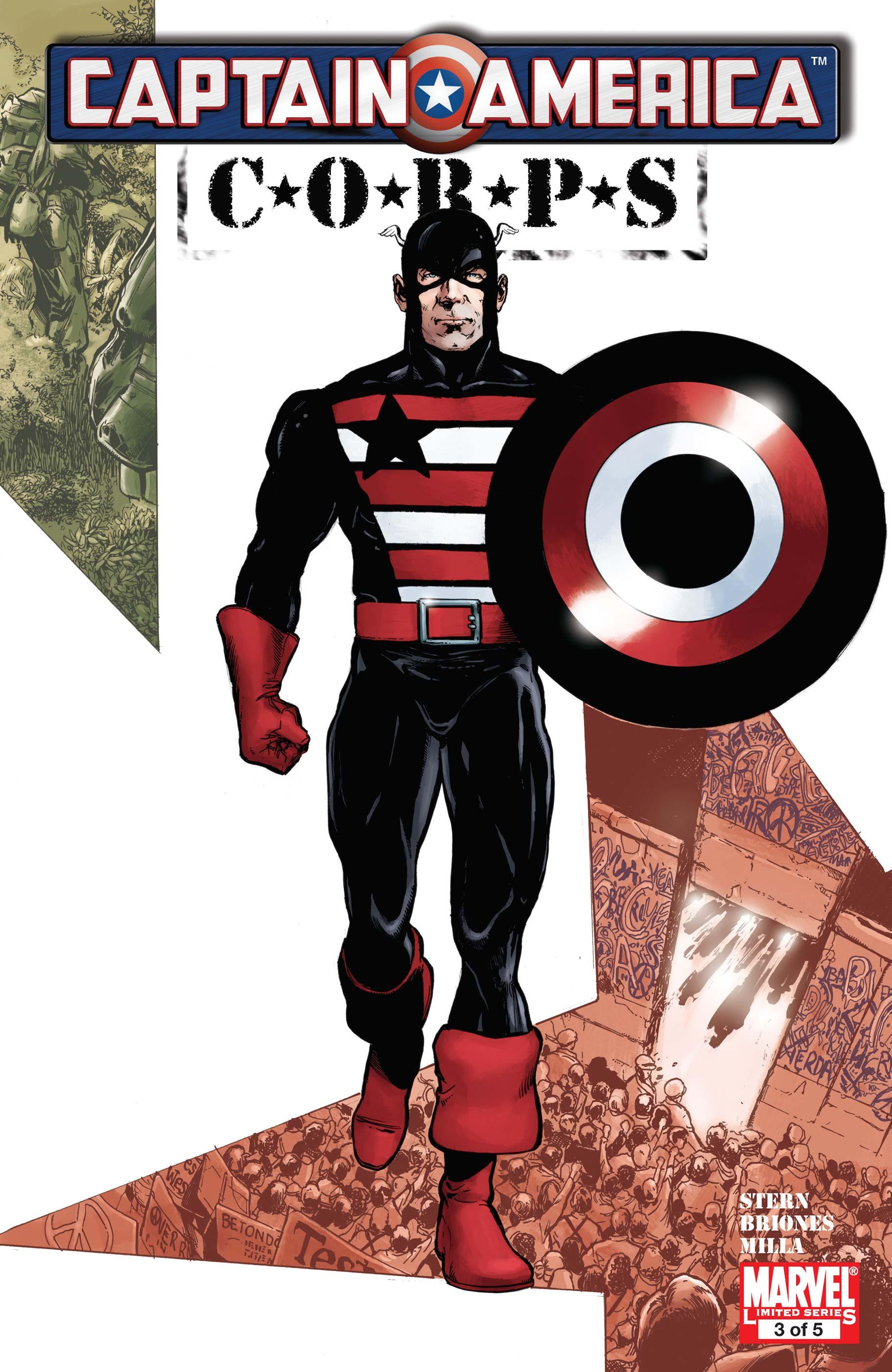Captain America Corps (2010) #3