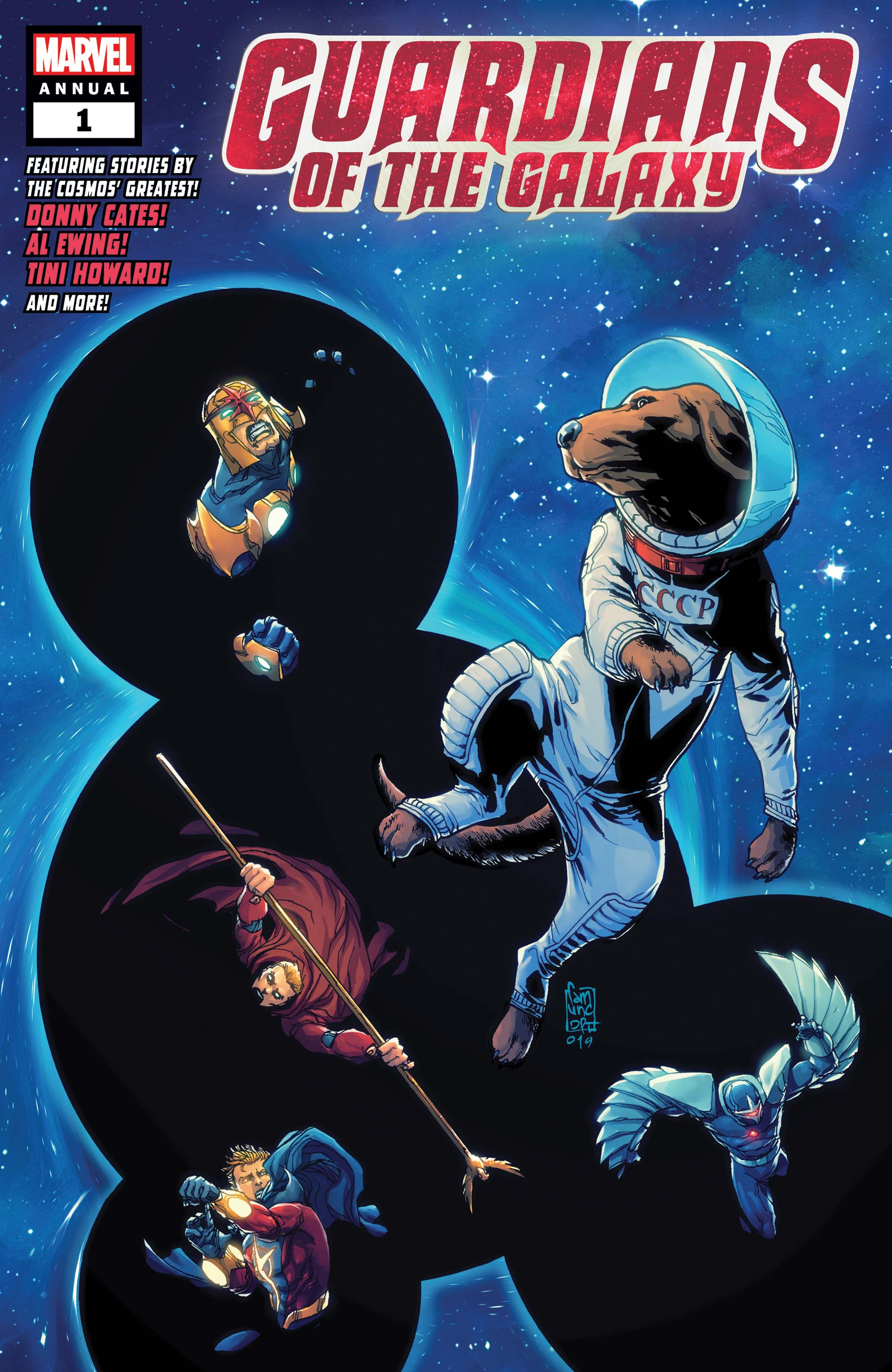 Guardians Of The Galaxy Annual (2019) #1