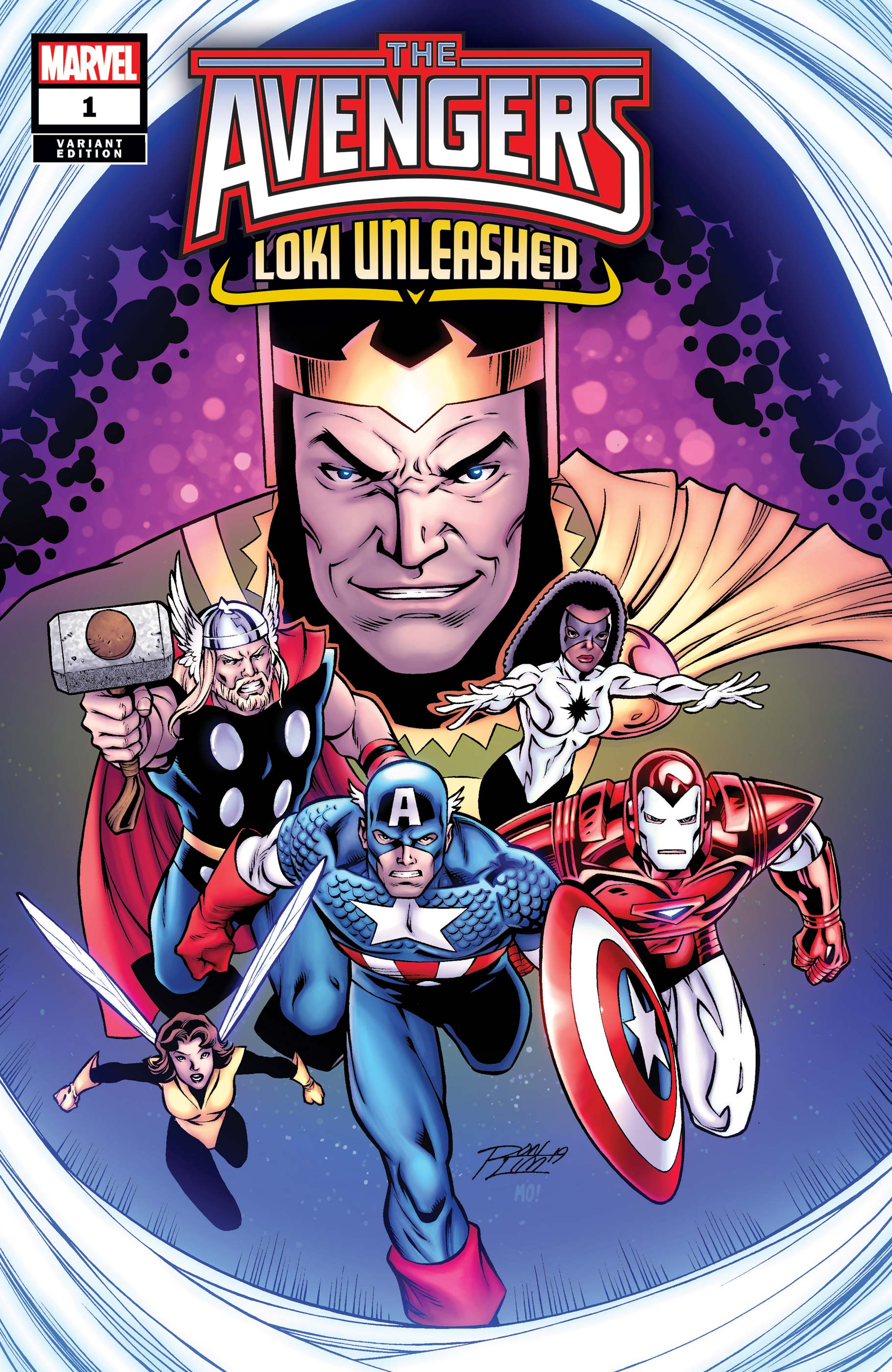 Avengers: Loki Unleashed! (2019) #1 (Variant)