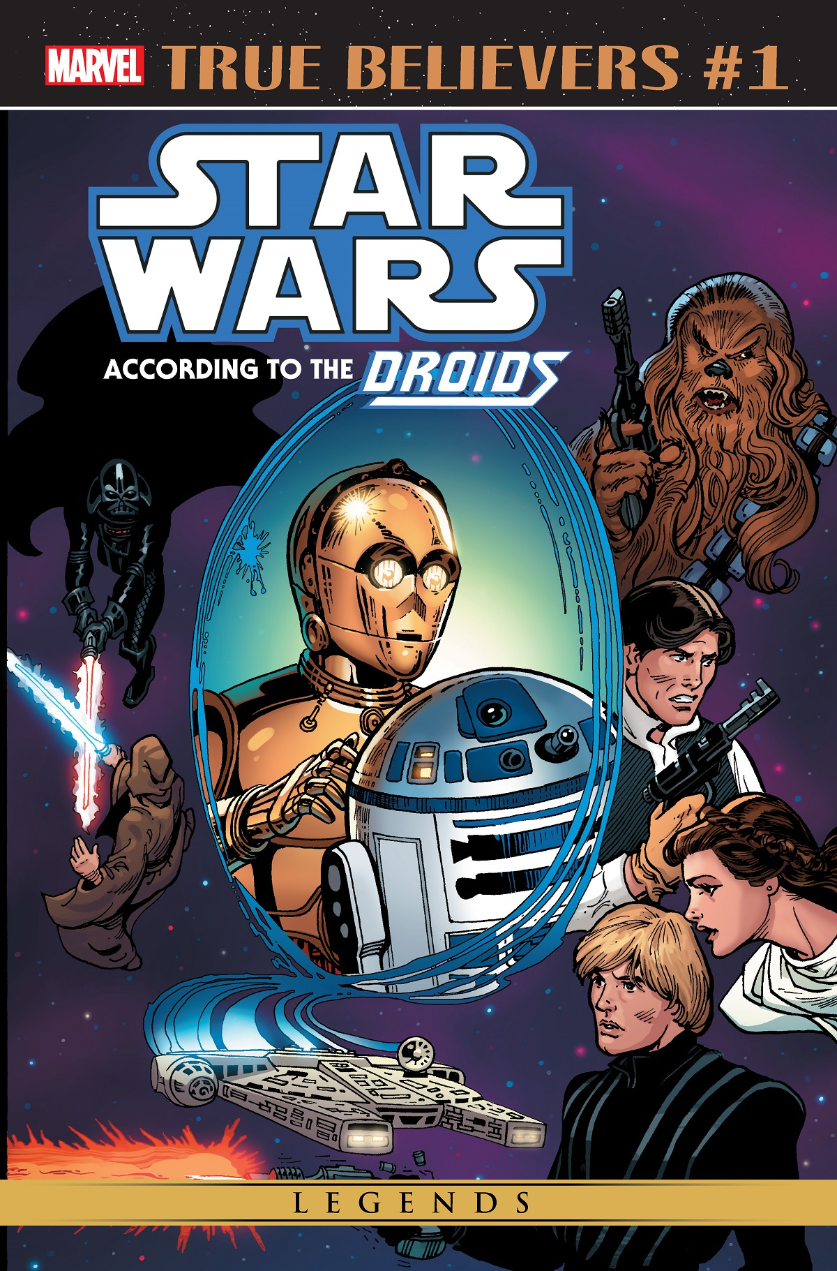 True Believers: Star Wars - According To The Droids (2019) #1