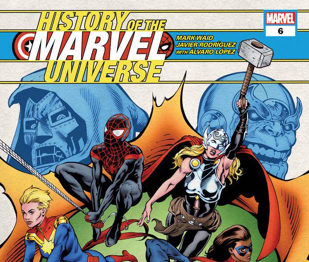 History of the Marvel Universe #6