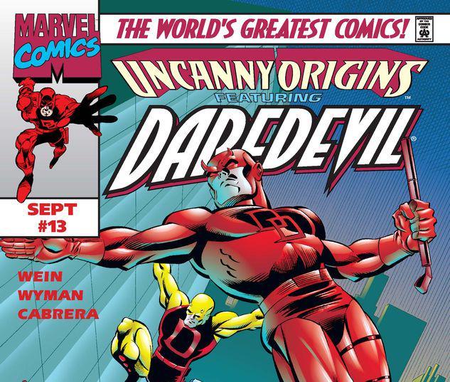 Uncanny Origins #13