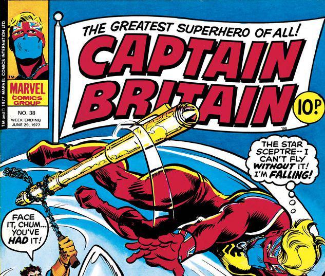 Captain Britain #38
