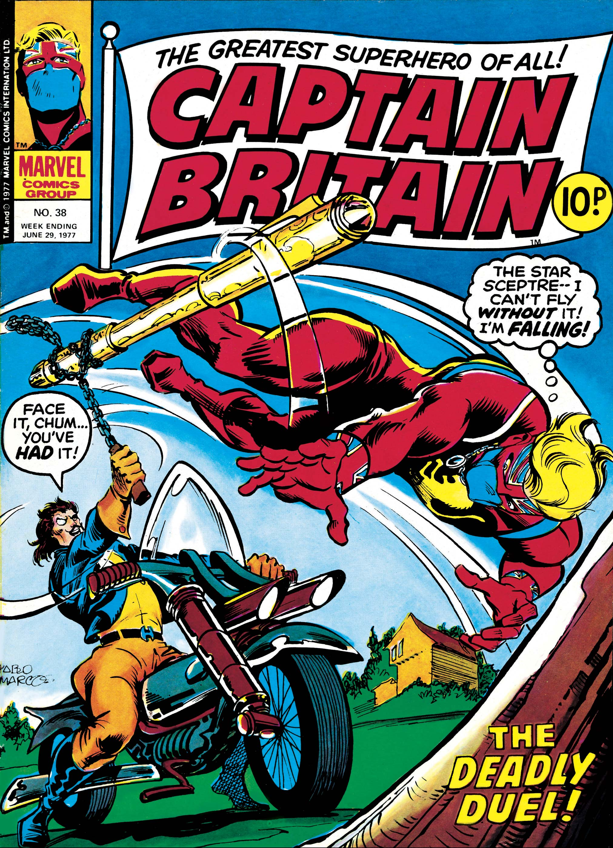 Captain Britain (1976) #38