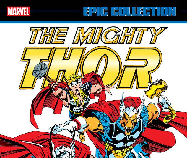 THOR EPIC COLLECTION: THE THOR WAR TPB #1