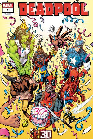 Deadpool Nerdy 30 (2021) #1 (Variant)