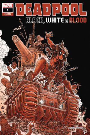 Deadpool: Black, White & Blood (2021) #1 (Variant)