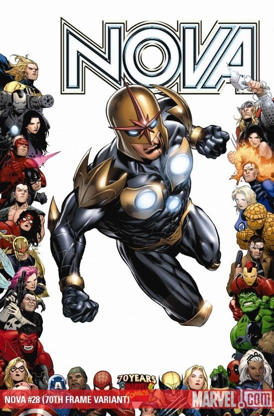 Nova (2007) #28 (70TH FRAME VARIANT)