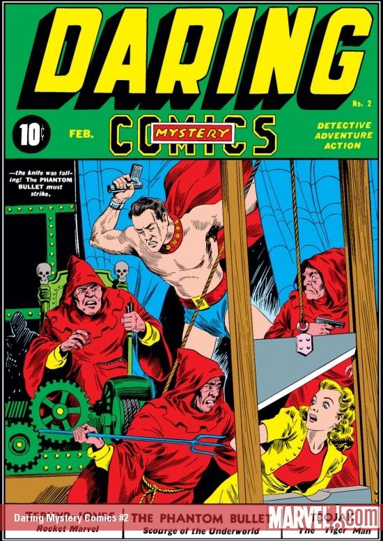Daring Mystery Comics (1940) #2