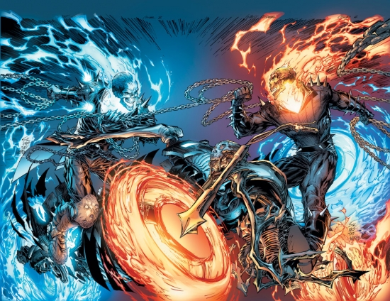 Ghost Rider Vs. Ghost Rider Poster (2008) #1
