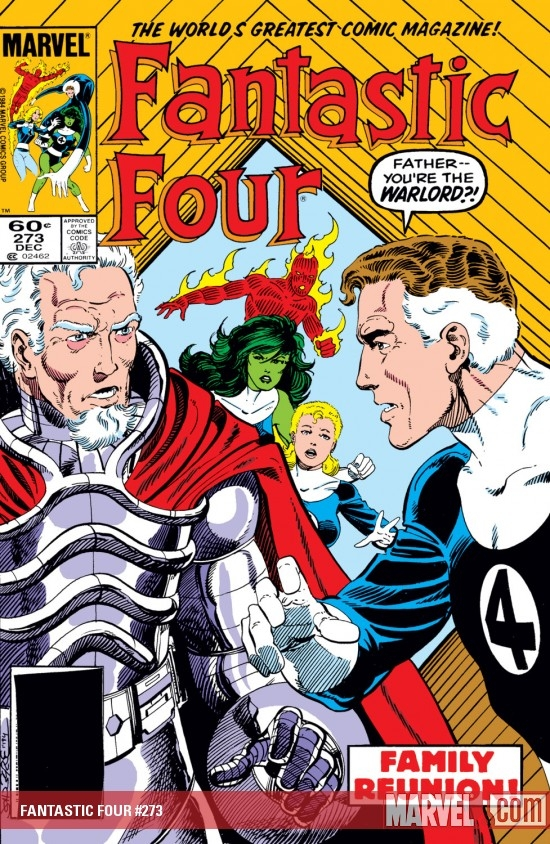 Fantastic Four (1961) #273