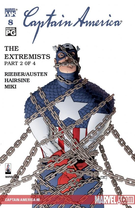 Captain America (2002) #8