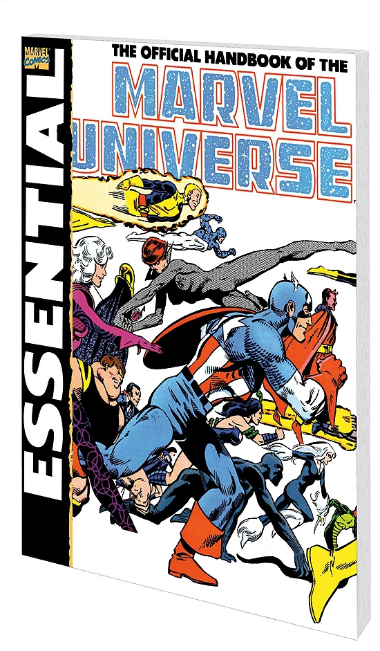 Essential Official Handbook of the Marvel Universe - Deluxe Edition Vol. 1 (Trade Paperback)