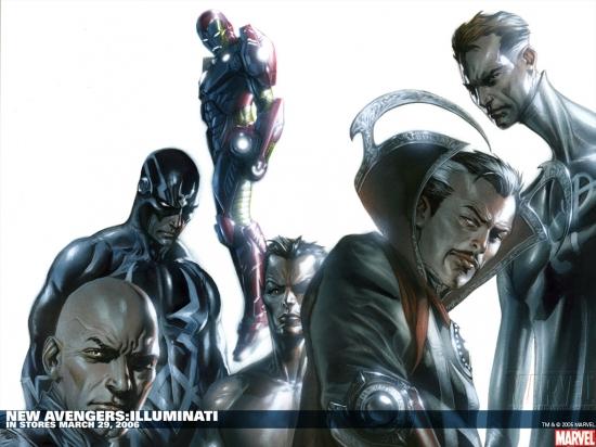 New Avengers: Illuminati (2006) Wallpaper