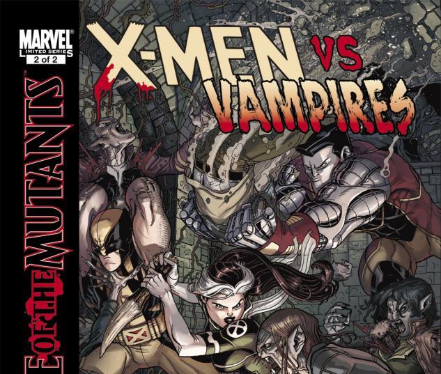 X-Men: Curse of the Mutants - X-Men Vs. Vampires (2010) #2