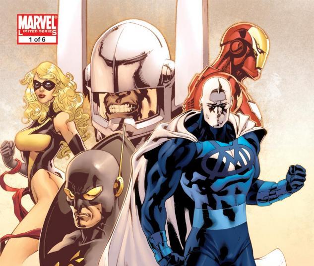 Adam: Legend of the Blue Marvel (2008) #1