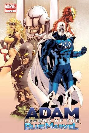 Adam: Legend of the Blue Marvel (Trade Paperback)