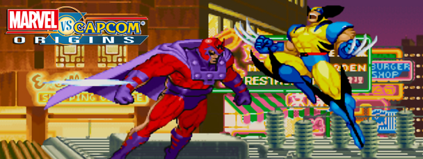 Marvel vs. Capcom Origins: Wolverine & Cyclops