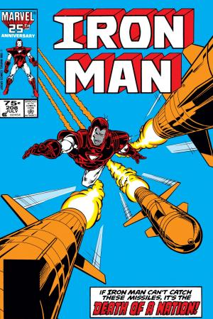 Iron Man #208
