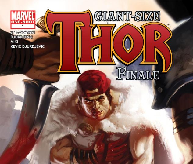 Thor Giant-Size (2010) #1 Cover