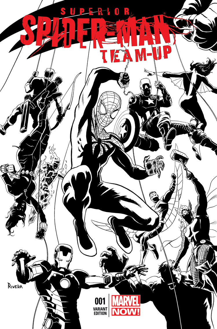 Superior Spider-Man Team-Up (2013) #1 (Rivera Sketch Variant)