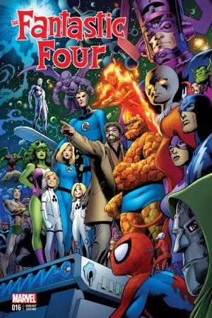 Fantastic Four #1  (Davis Brevoort Variant)