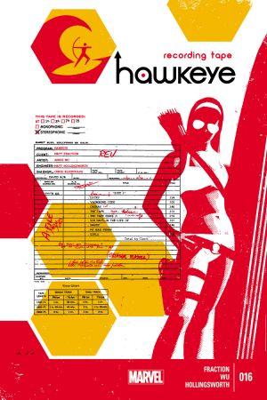 Hawkeye (2012) #16