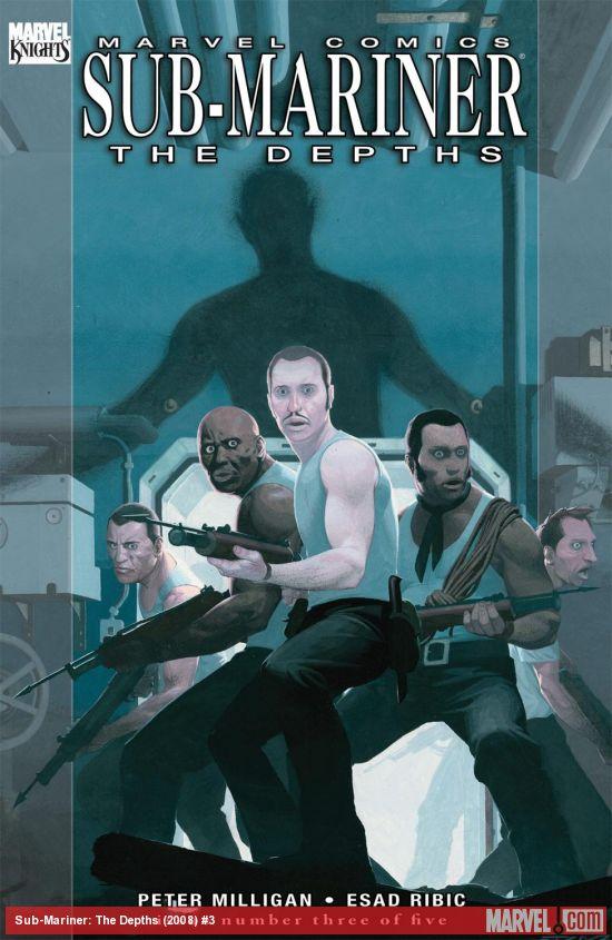 Sub-Mariner: The Depths (2008) #3