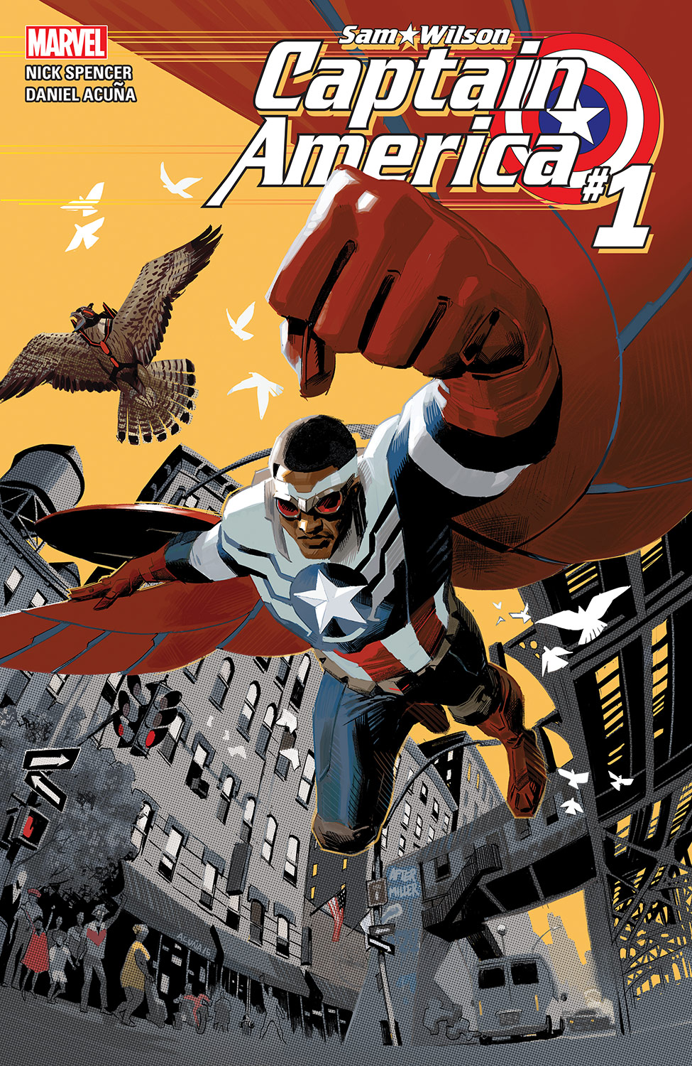 Image result for sam wilson captain america 1