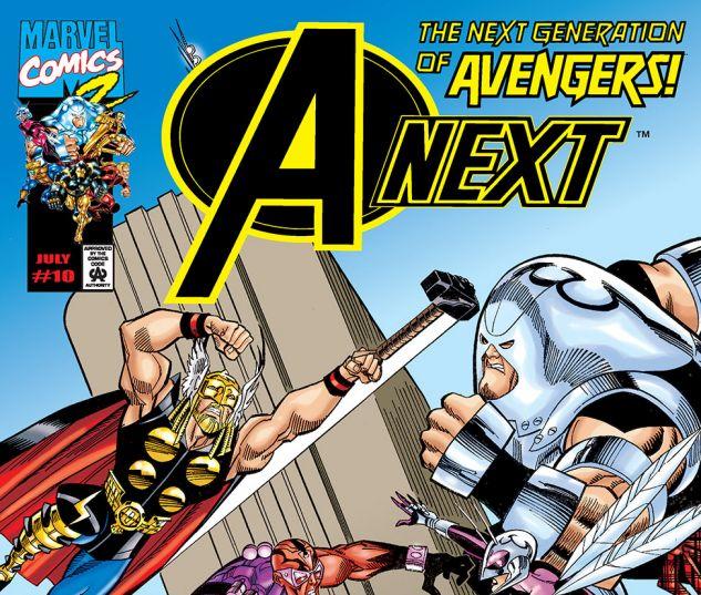A-Next (1998) #10 Cover