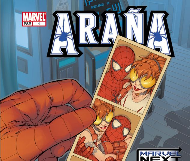 ARANA: THE HEART OF THE SPIDER (2005) #4 Cover