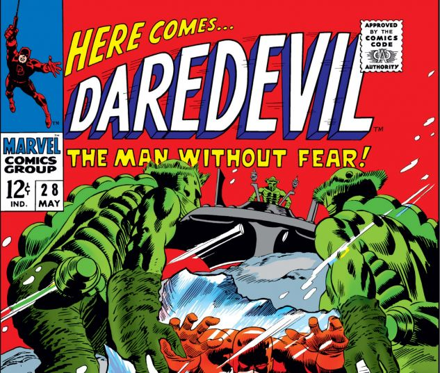 DAREDEVIL (1964) #28 Cover