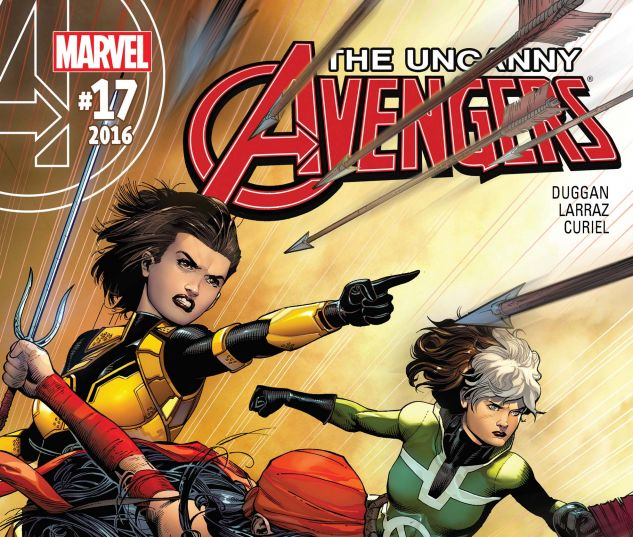 cover from Uncanny Avengers (2015) #17