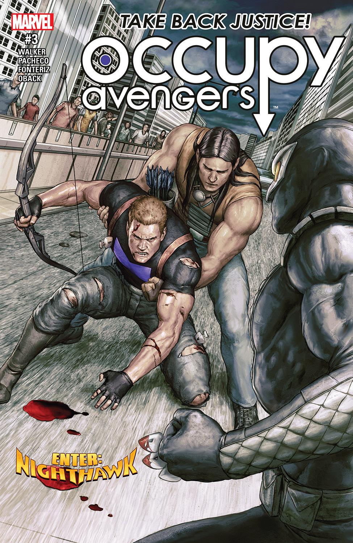 Occupy Avengers (2016) #3