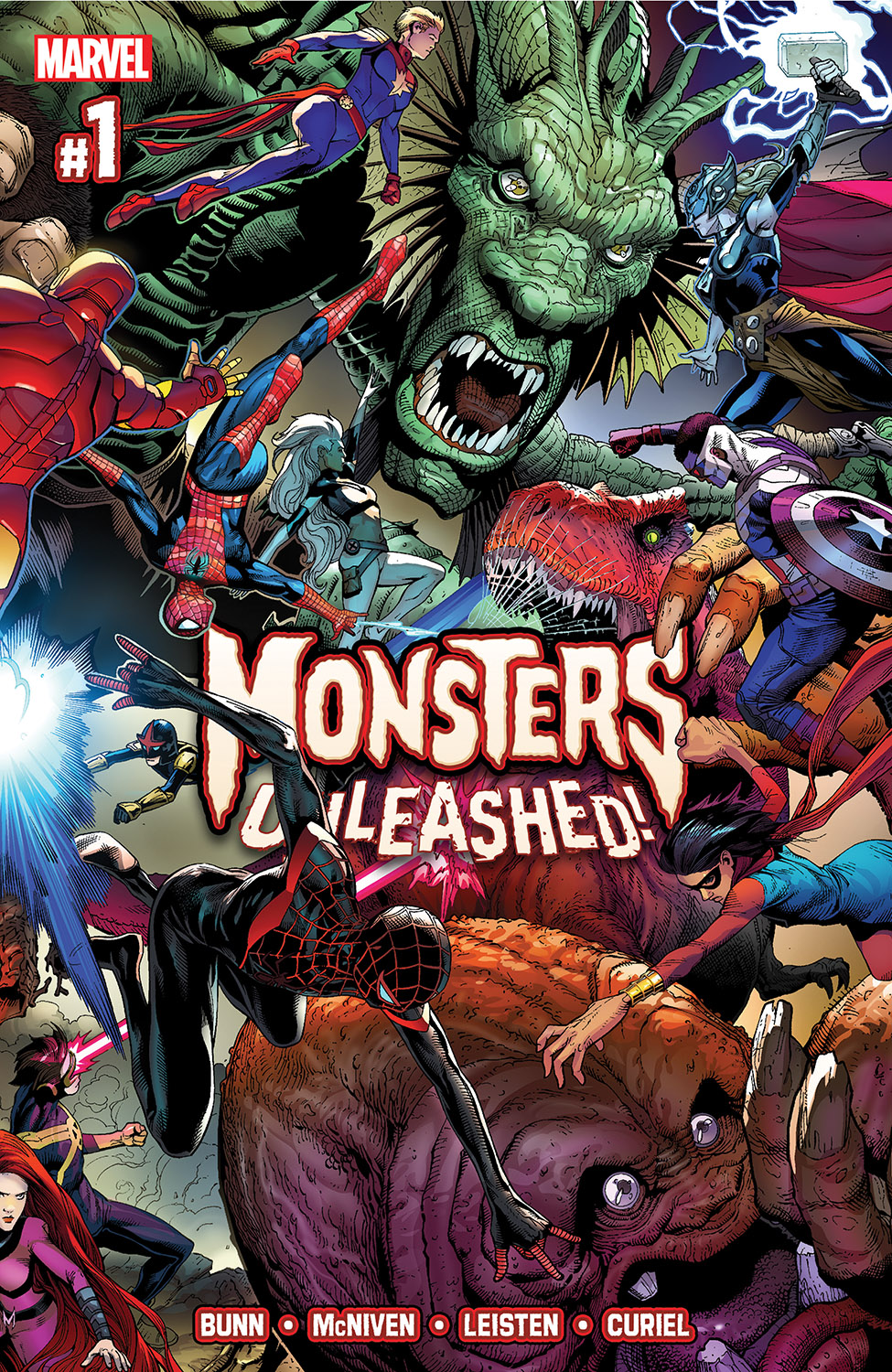 Monsters Unleashed (2017) #1