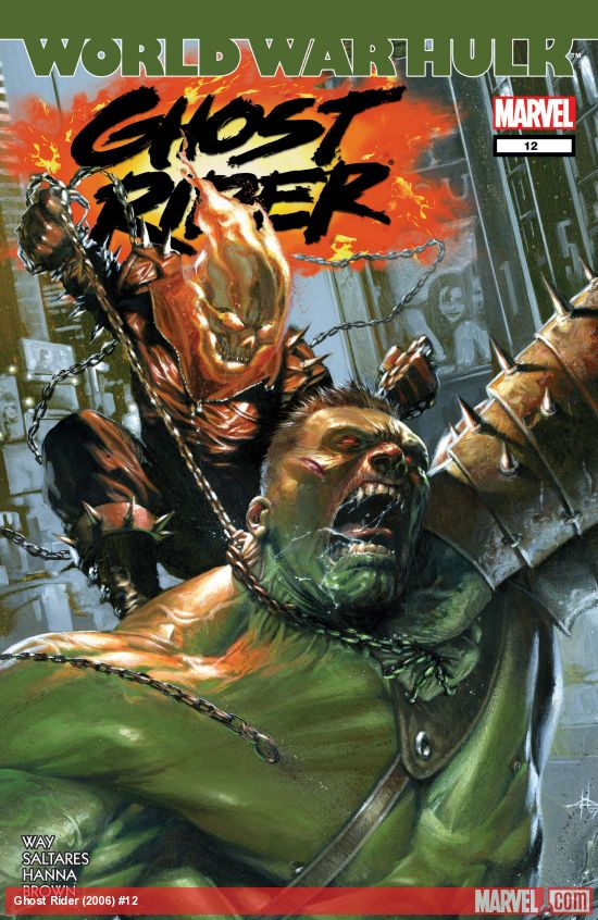 Ghost Rider (2006) #12