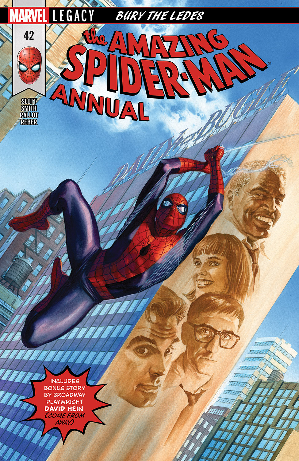 AMAZING SPIDER-MAN ANNUAL 42 (2018) #42