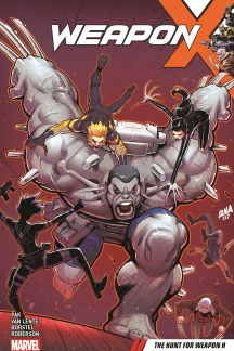 Weapon X Vol. 2: The Hunt For Weapon H (Trade Paperback)