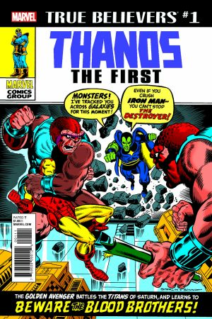 True Believers: Thanos the First #1