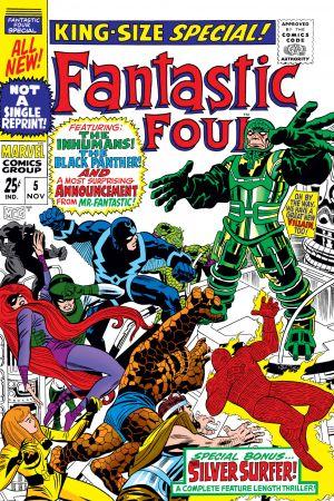 Fantastic Four Annual (1963) #5