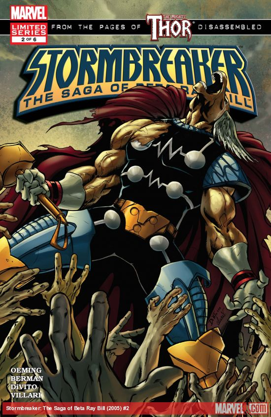 Stormbreaker: The Saga of Beta Ray Bill (2005) #2