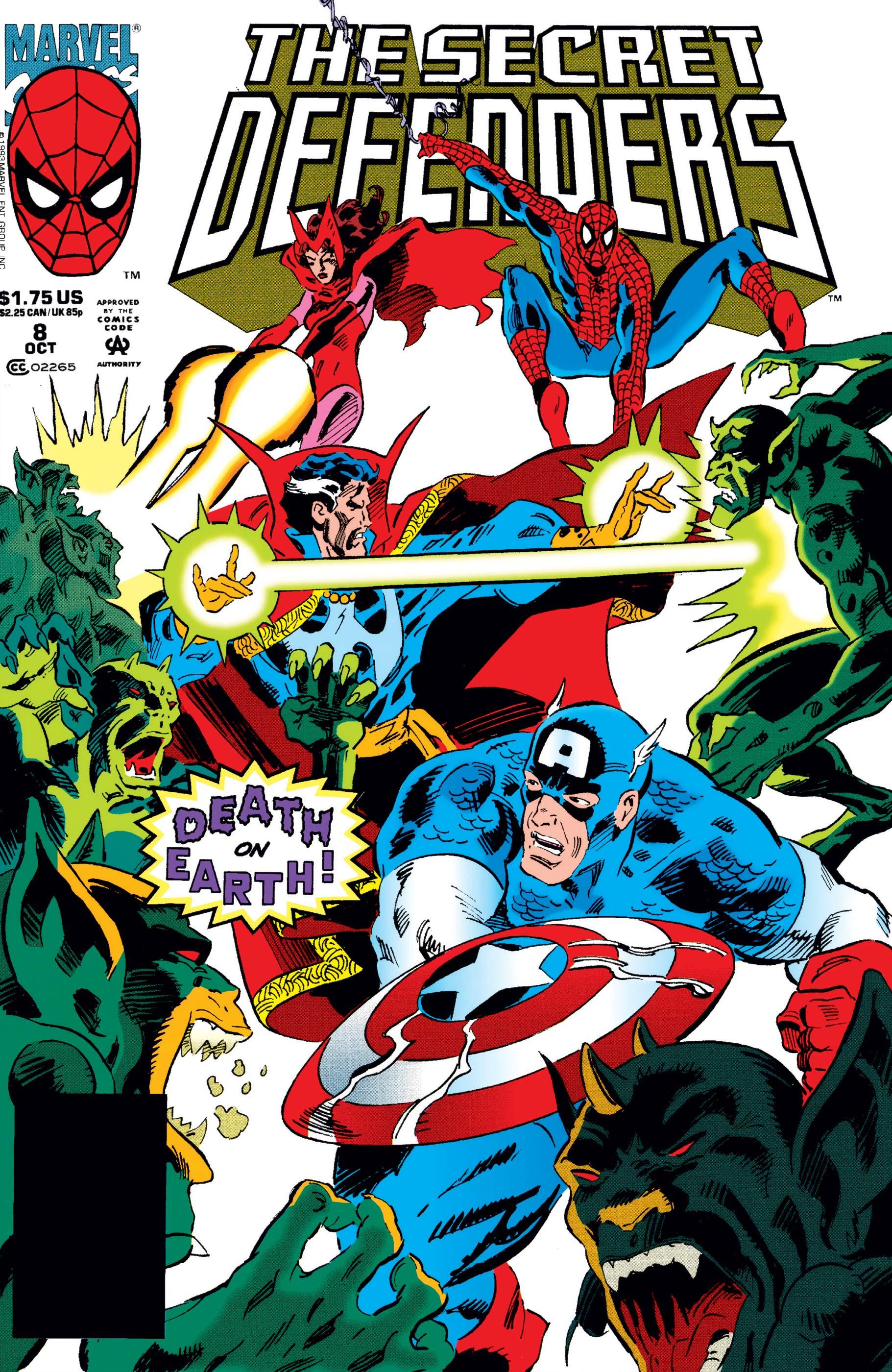 Secret Defenders (1993) #8