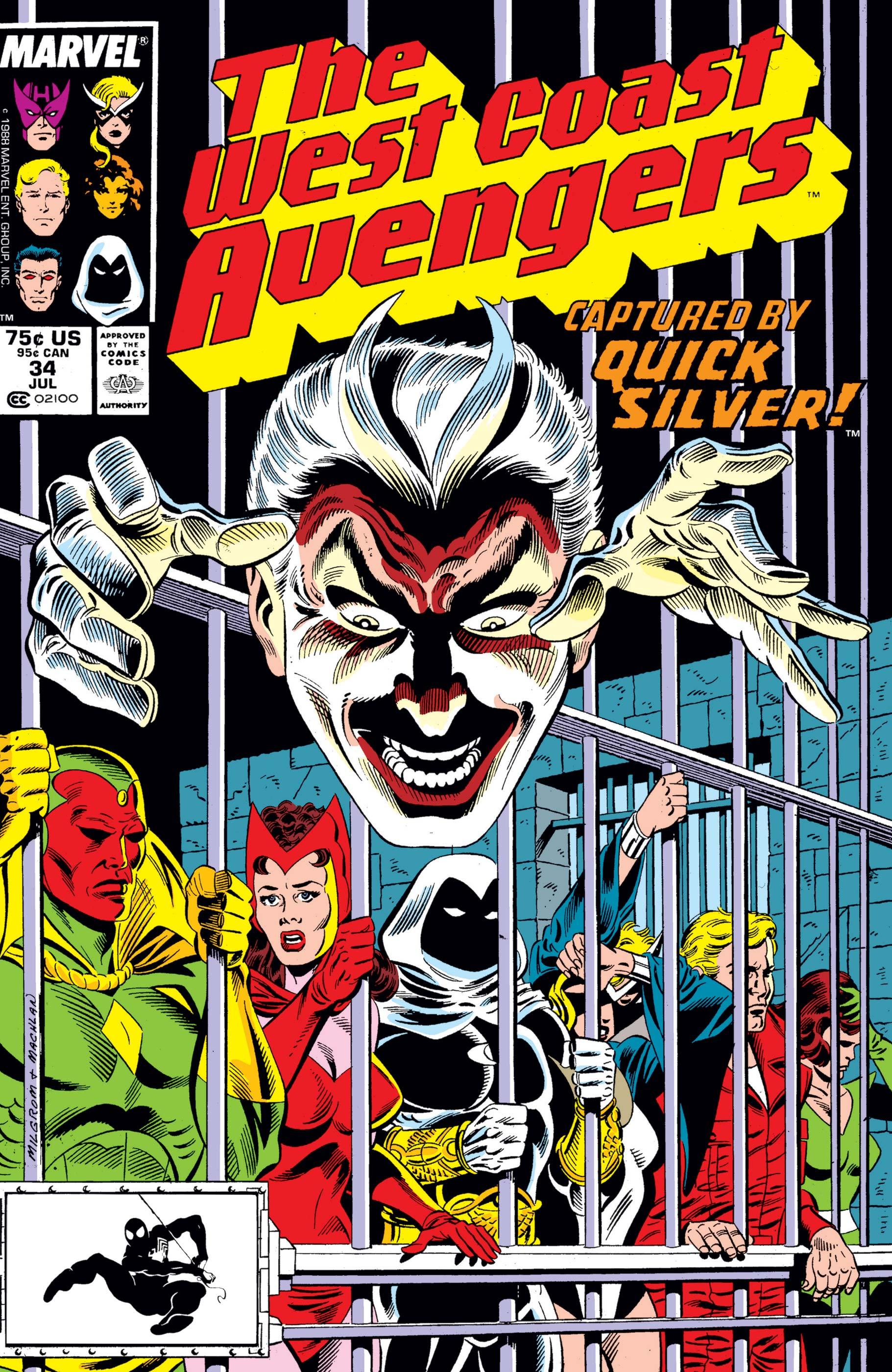 West Coast Avengers (1985) #34