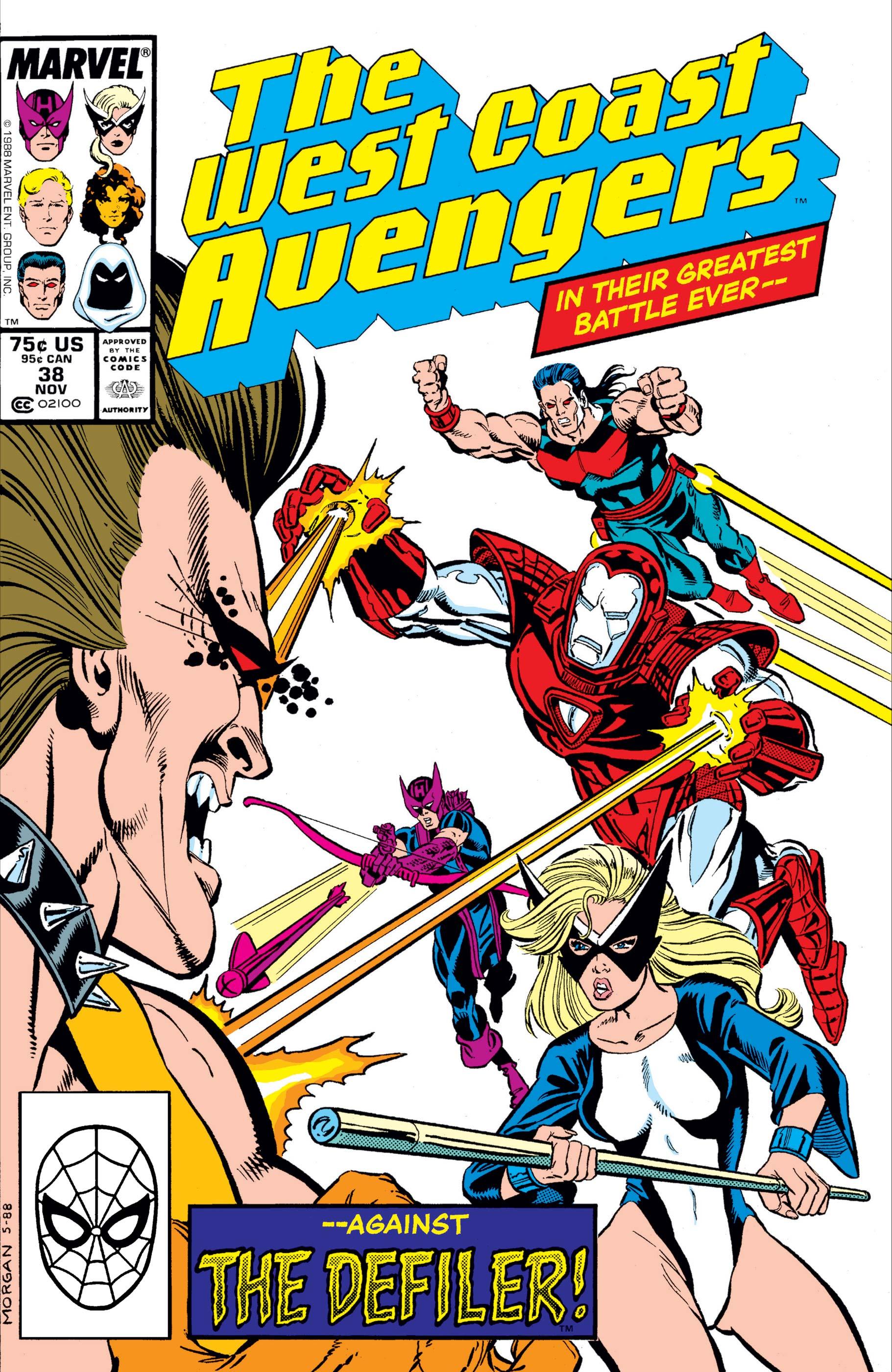 West Coast Avengers (1985) #38