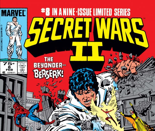 SECRET WARS II (1985) #8