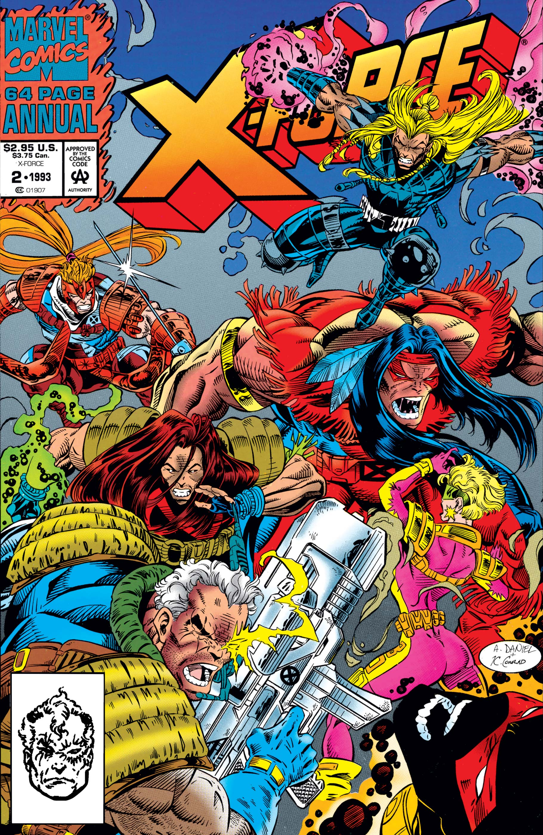 X-Force Annual (1992) #2