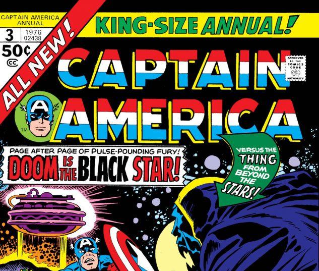 CAPTAIN AMERICA ANNUAL (1971) #4